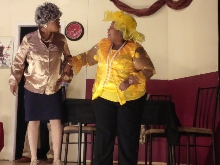 "Tamara Adkins (""Sister Shirley"") & LaToya Hammond (""Sister Smith"")"