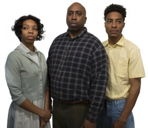 —Kayla Mundy, Will Bryson, and Donnevan Tolbert in Fences.